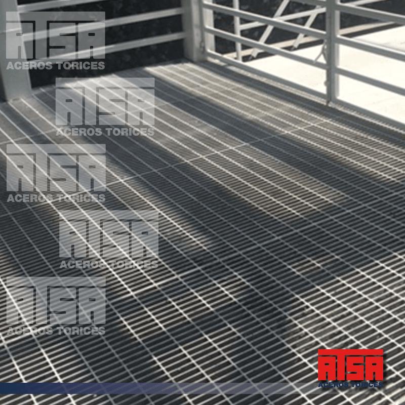 Rejilla de Acero Industrial