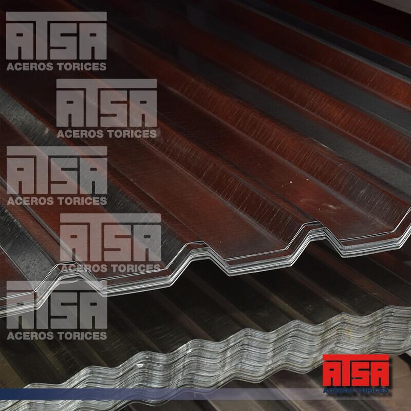 lámina R-72 de acero galvanizada