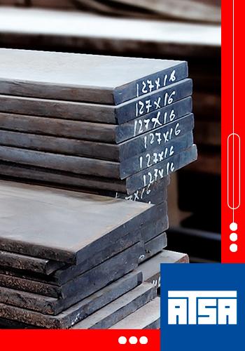 Placas de metal planas