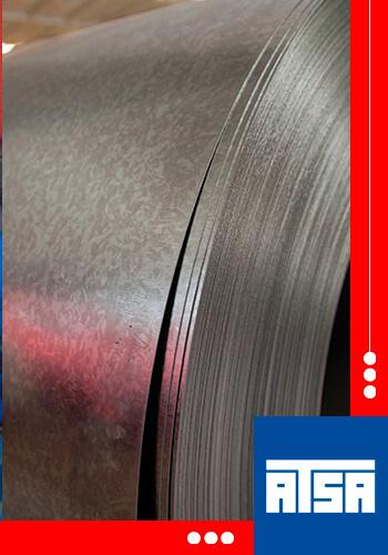 medidas de rollo de acero